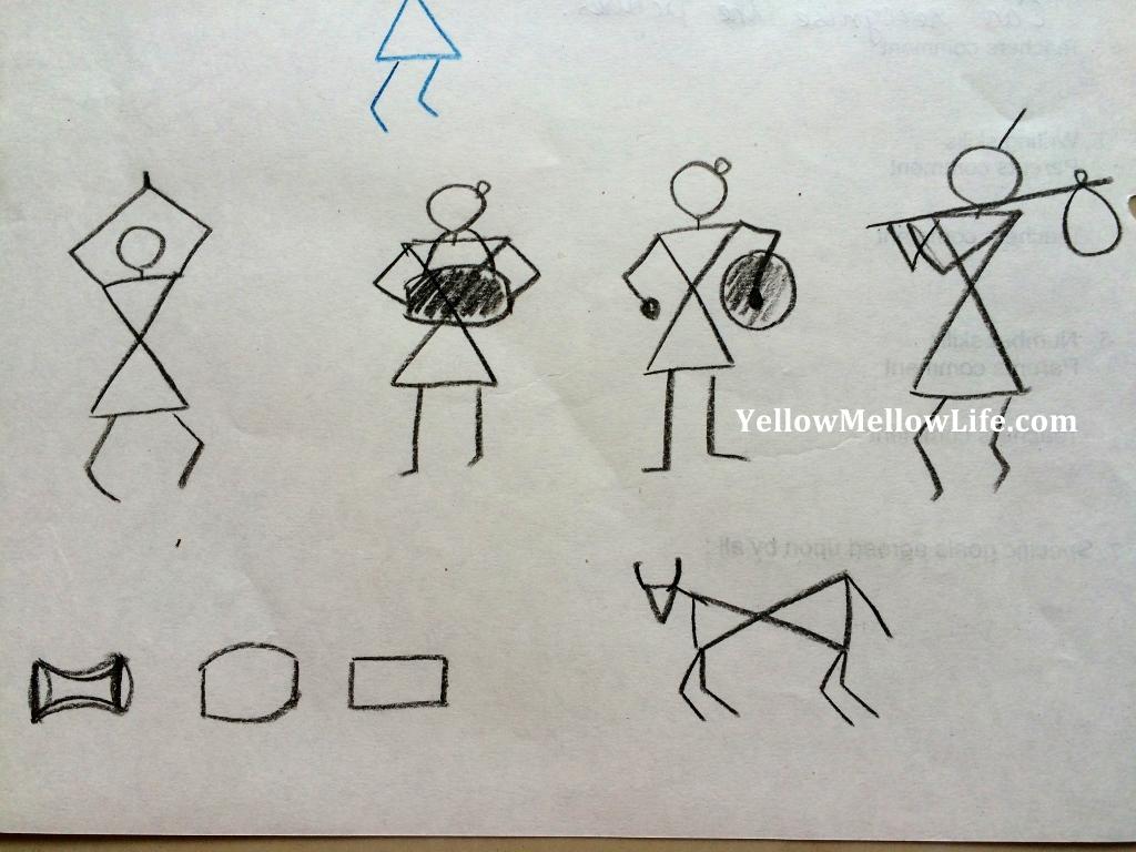 Let S Make Art Warli Painting For Kids